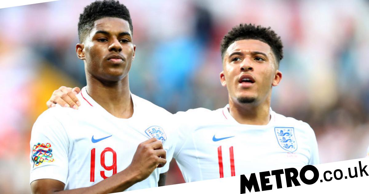 Marcus Rashford talks up Manchester United target Jadon Sancho - Metro.co.uk