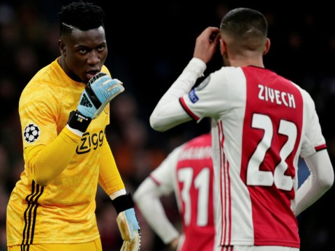 Hakim Ziyech to request Chelsea complete Andre Onana transfer