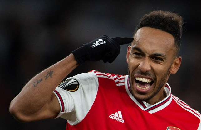 Pierre Emerick Aubameyang could leave Arsenal this summer