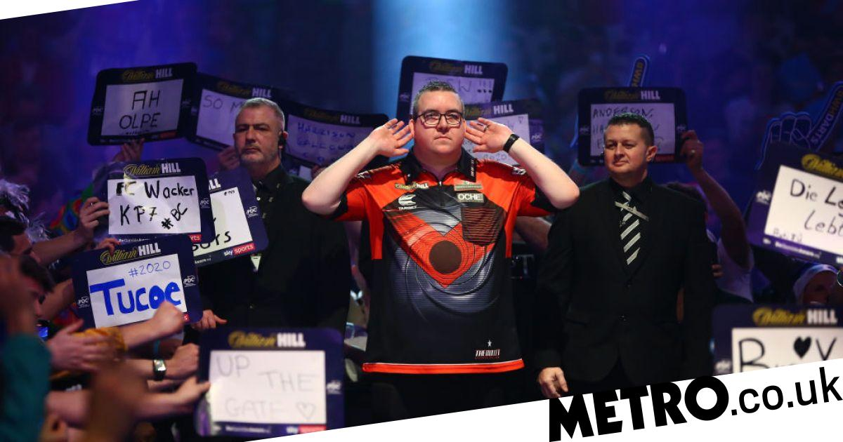 Stephen Bunting thanks sports psychologist for return to Premier League form