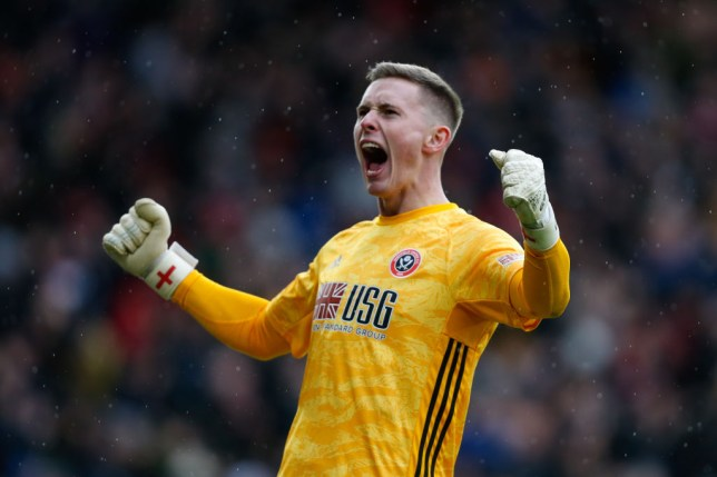 Sheffield United keeper Dean Henderson