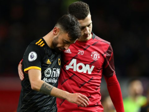 Manchester United star Bruno Fernandes denies Diogo Dalot makes him packed lunches