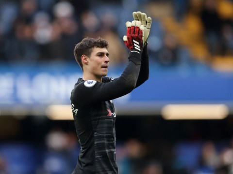 Kepa Arrizabalaga ready to fight to convince Frank Lampard of his worth after rocky start to Chelsea career