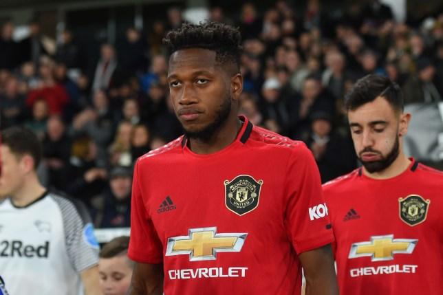 Manchester United midfielder Fred