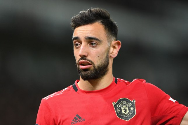 Bruno Fernandes is demanding high standards at Manchester United