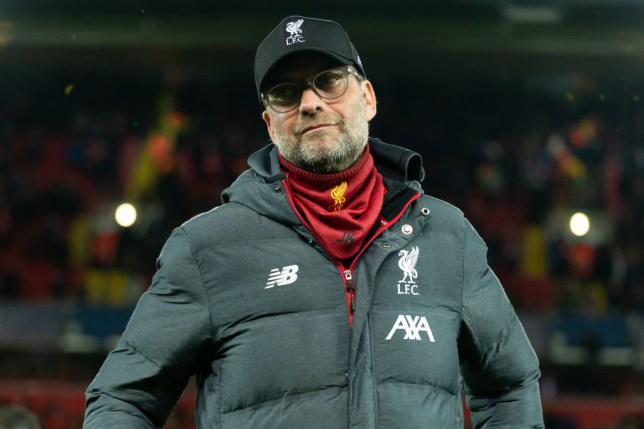 Jurgen Klopp's Liverpool are 25 points clear at the top of the Premier League