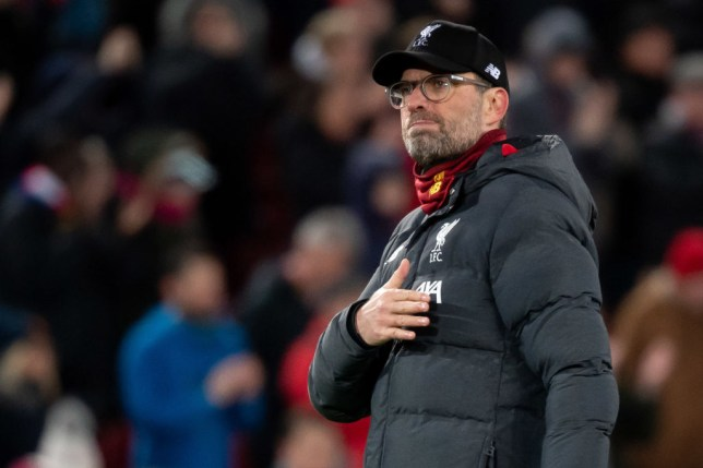 Jurgen Klopp was praised by the World Health Organisation for his reaction to the coronavirus crisis