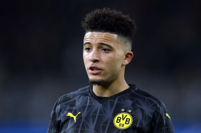 Jadon Sancho has been linked with Manchester United, Chelsea and Liverpool