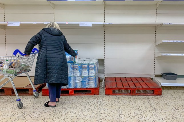 Tesco have been forced to limit item availability due to high demand