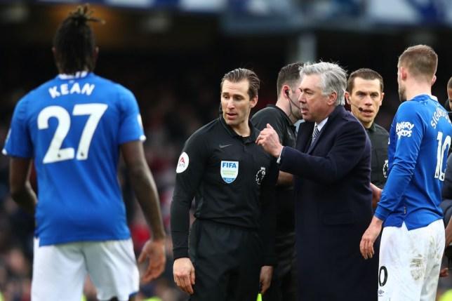 Carlo Ancelotti was furious (Picture: Getty)