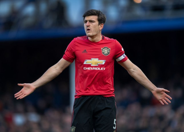 Harry Maguire was not included in Manchester United's 18-man squad (Picture: Getty)