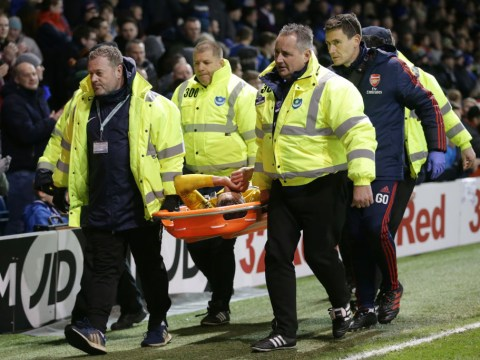 Portsmouth fans sing 'You're going home in a f*****g ambulance' to Lucas Torreira as he's stretchered off with ankle injury