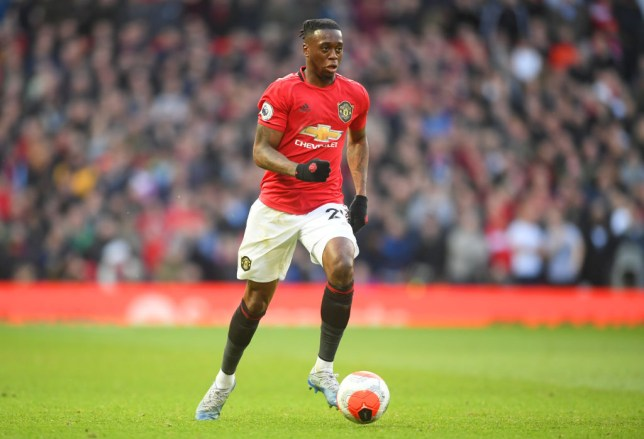 Aaron Wan-Bissaka excelled against Manchester City (Picture: Getty)w