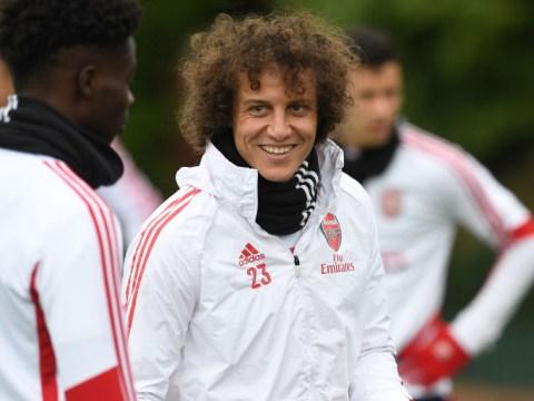 Mikel Arteta tells Arsenal to trigger extra year in David Luiz's contract
