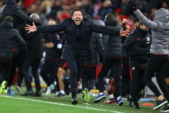 L'Atletico de Diego Simeone a réservé sa place en quart de finale