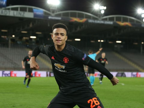 Mason Greenwood beats Wayne Rooney and Marcus Rashford to set Manchester United record during LASK thrashing