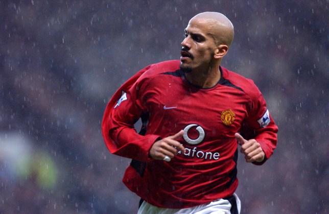 Former Manchester United midfielder Juan Sebastian Veron