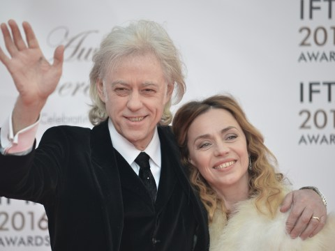 Bob Geldof lifts the lid on sex life with wife Jeanne: 'Chemical assistance isn't always needed'