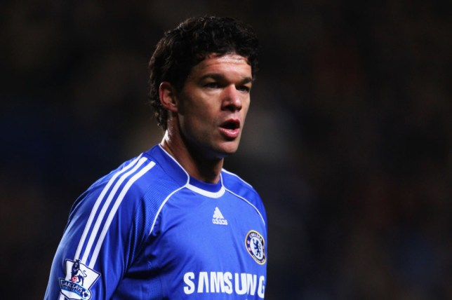 LONDON - JANUARY 30:  Michael Ballack of Chelsea looks on during the Barclays Premier League match between Chelsea and Reading at Stamford Bridge on January 30, 2008 in London, England.  (Photo by Phil Cole/Getty Images)