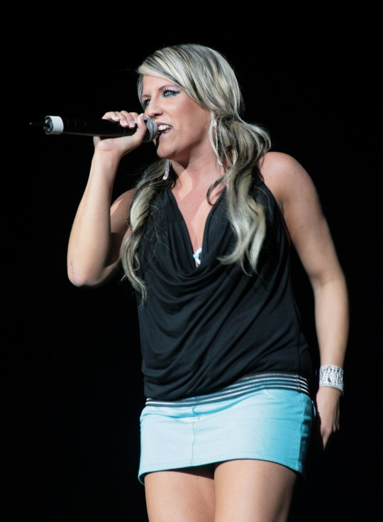 UNITED STATES - MAY 16:  Q CONCERT  Photo of CASCADA and Natalie HORLER, Natalie Horler performing on stage  (Photo by Andrew Lepley/Redferns)