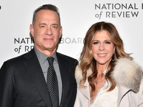 Rita Wilson clearly going stir-crazy in coronavirus isolation with Tom Hanks as she shares mobile number