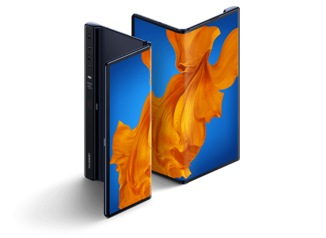 The Huawei Mate XS is a £2,000 folding phone (Huawei)