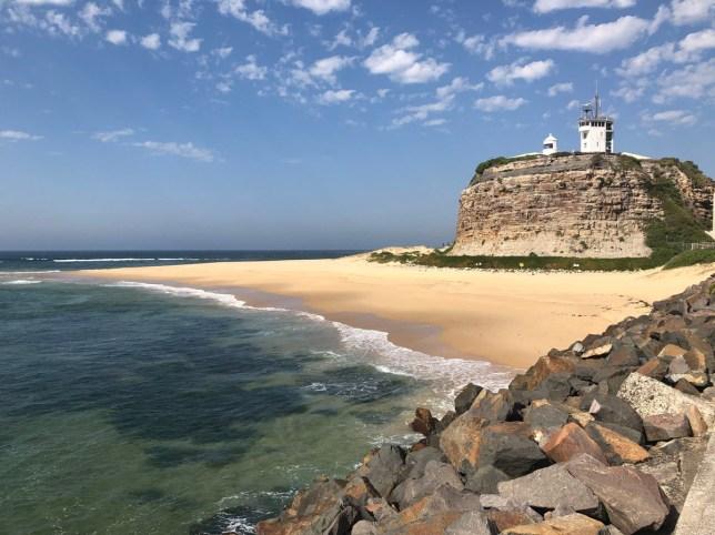 beaches in newcastle, australia
