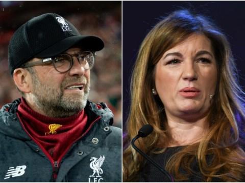 West Ham chief Karren Brady tells Liverpool the Premier League season should be 'voided'