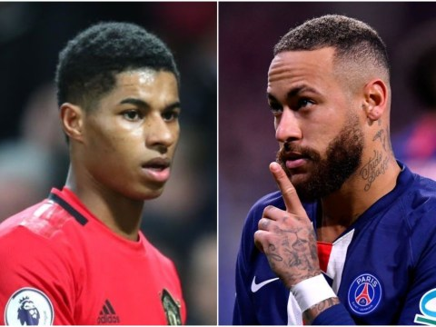 Neymar hits back at Marcus Rashford's Man Utd celebration post on Instagram