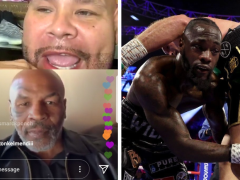 Mike Tyson tells Deontay Wilder what he needs to do to beat Tyson Fury in trilogy fight