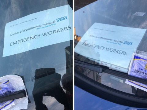 Traffic warden gave ticket to NHS worker during shift at hospital