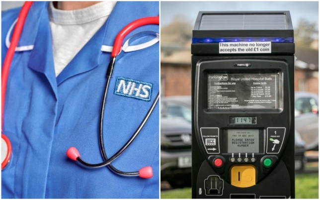 NHS staff will no longer have to pay to park at work