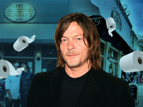 The Walking Dead's Norman Reedus selling loo roll and hand sanitiser at his restaurant to help out locals