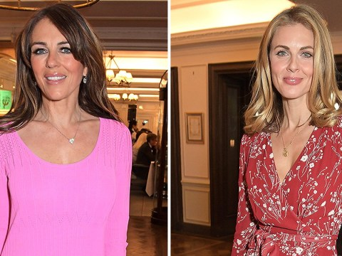 Liz Hurley and Donna Air among the stars at Turn The Tables charity event