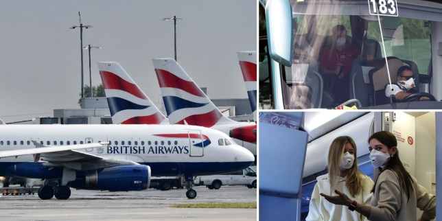 British Airways and Ryanair became the latest airlines to announce they were cancelling flights