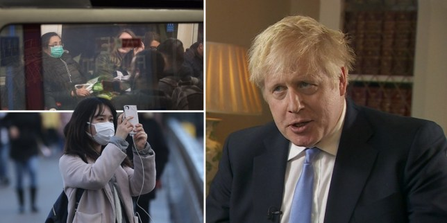 Boris Johnson said he did not want to 'minimise the challenges we will face'.