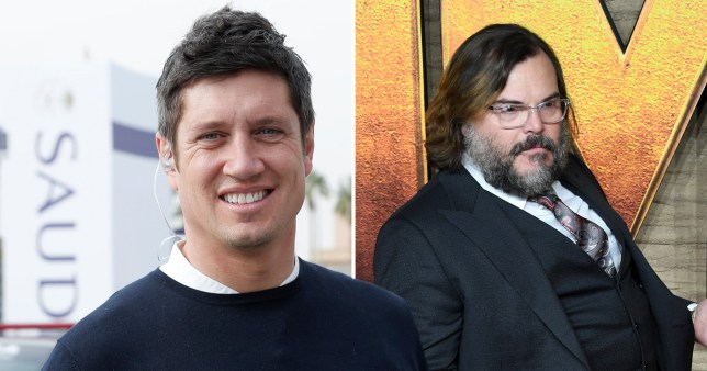 Vernon Kay and Jack Black