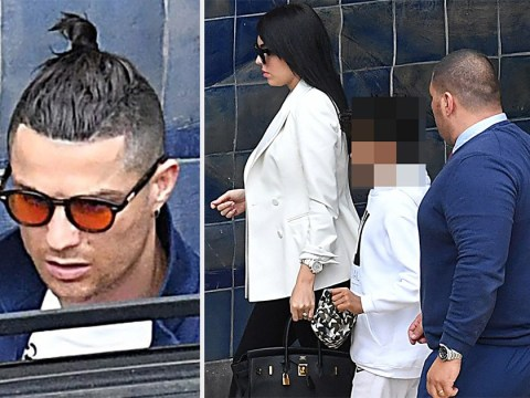Cristiano Ronaldo flies home to Madeira after his mother was 'rushed to hospital with a stroke'