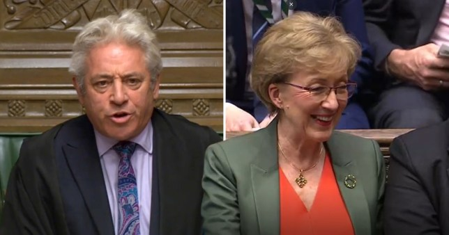 Leadsom Bercow