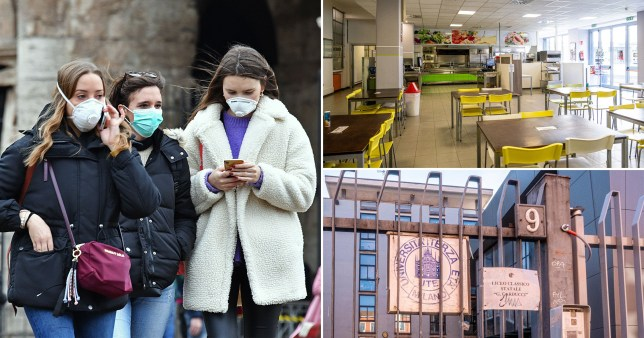 All schools and universities will close to try and prevent the spread of the virus