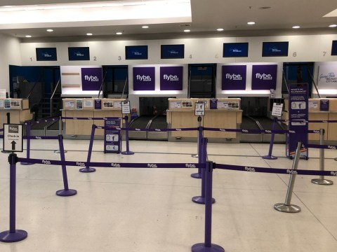 Flybe collapses into administration amid coronavirus 'pressure'