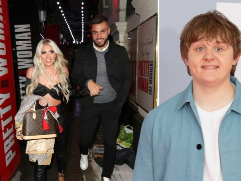 Paige Turley can't stop smiling on date night with Finley Tapp after revealing ex Lewis Capaldi text her over Love Island win