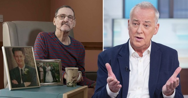Michael Barrymore Terry Lubbock Good Morning Britain