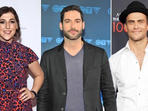 Cheyenne Jackson joins The Big Bang Theory star Mayim Bialik in Miranda spin-off as Tom Ellis' character