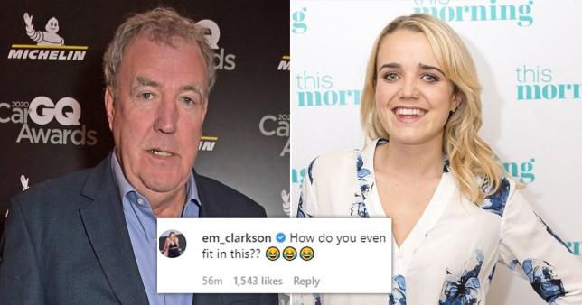 Jeremy Clarkson Emily Clarkson
