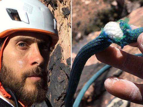 Jared Leto almost fell to his death after mountain climbing safety rope was cut