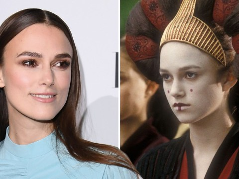 Keira Knightley fell asleep while filming Star Wars because she was so bored