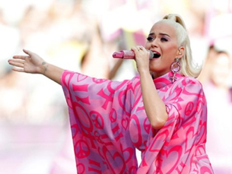 Katy Perry 'hopes her newborn is a girl' as she performs at Women's Cricket World Cup final