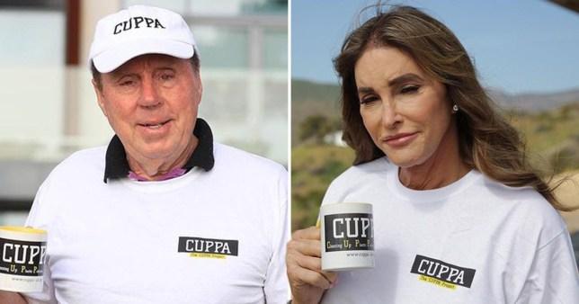 Caitlyn Jenner and Harry Redknapp