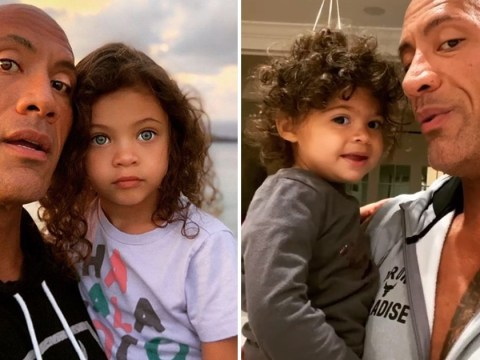 Dwayne Johnson pays adorable tribute to daughters on International Women's Day